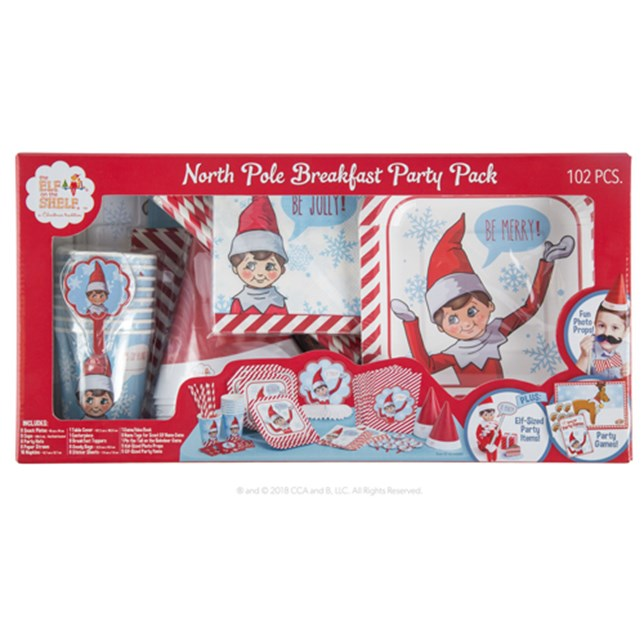 North Pole Breakfast Party Pack