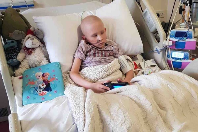 GOFUNDME/BEAUTIFUL BOY WITH ACUTE LYMPHOBLASTIC LEUKAEMIA