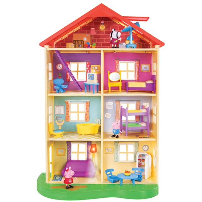 Peppa Pig Lights & Sounds Family Home