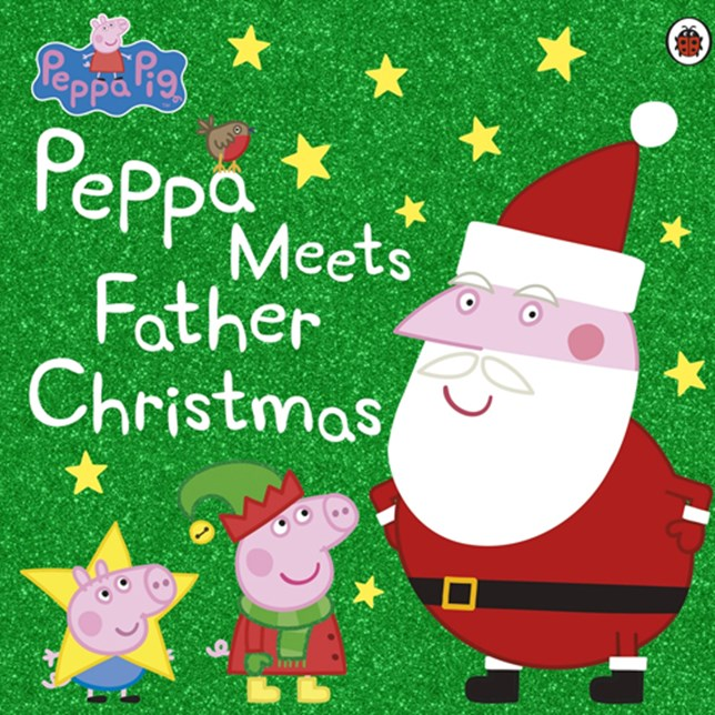 Peppa Meets Father Christmas book