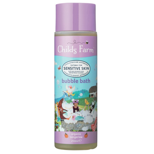 Childs Farm bubble bath, organic tangerine