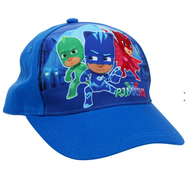 PJ Masks Printed Cap in Blue