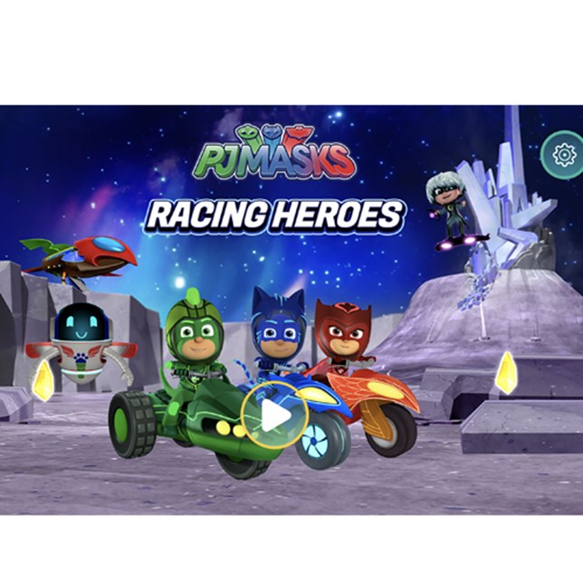 PJ Masks Racing Hero App