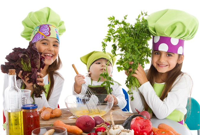 Not only will I get the kids to eat vegies, but they can prepare the dinners too! Win-Win! Image:Getty