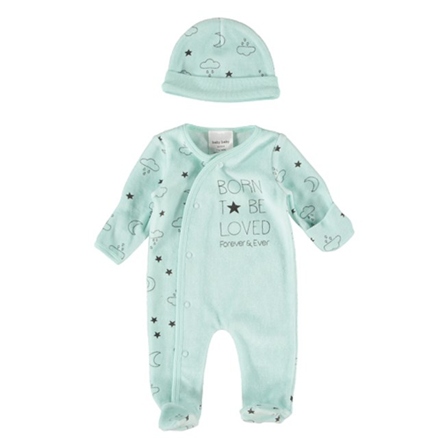 Baby Premature Romper Set Mint