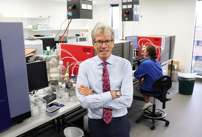 Pictured: Deputy Vice-Chancellor (Research) at UNSW, Professor Nicholas Fisk, QUT.