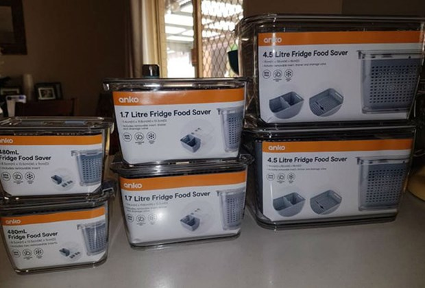 This New Super Cheap Kmart Fridge Food Saver Storage System