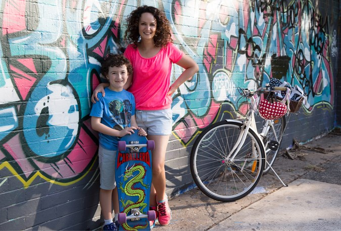 Franki and her son Maxwell, before baby Louis graced the planet! Photography by Simona Janek www.simonajanek.com.au