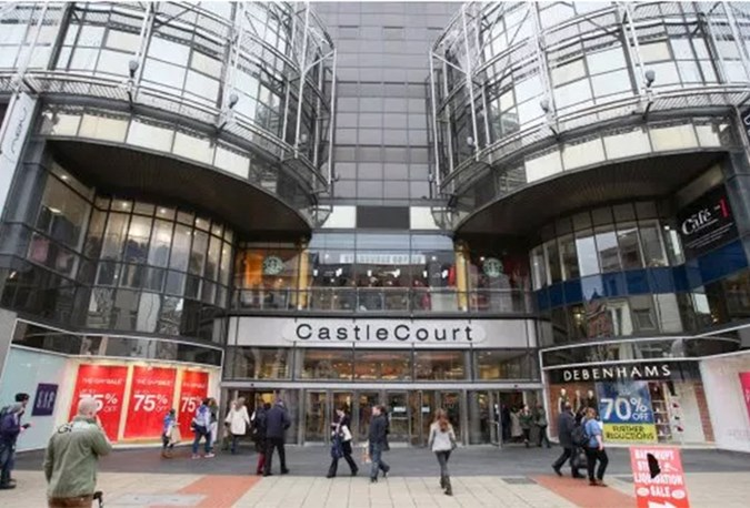 Castle Court shopping mall