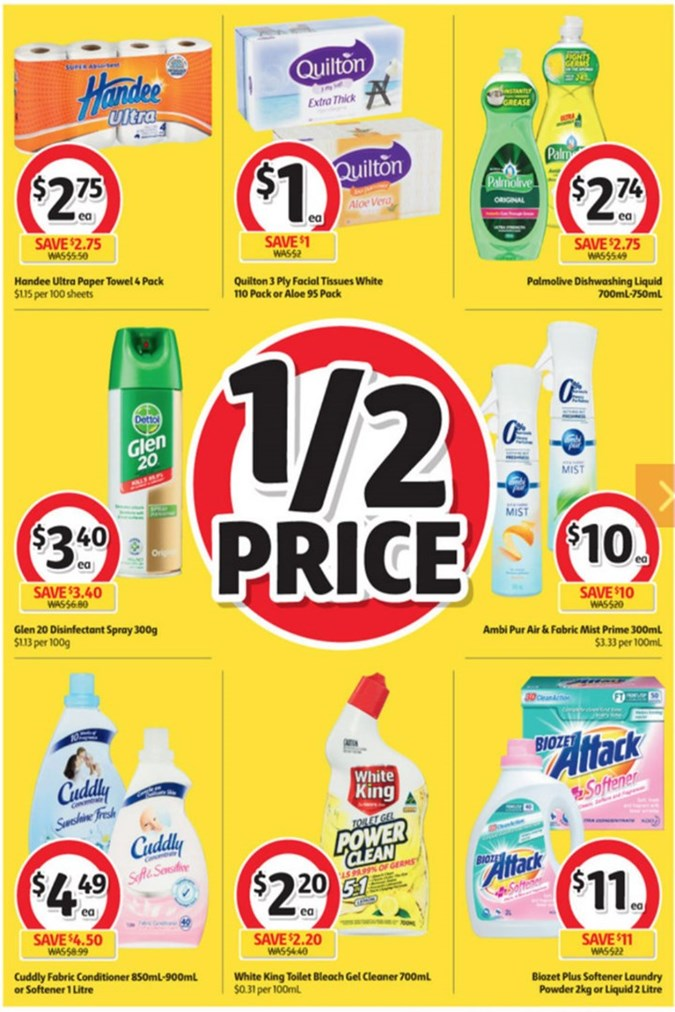 Quick Coles Announce Massive 12 Price Sale But It Only
