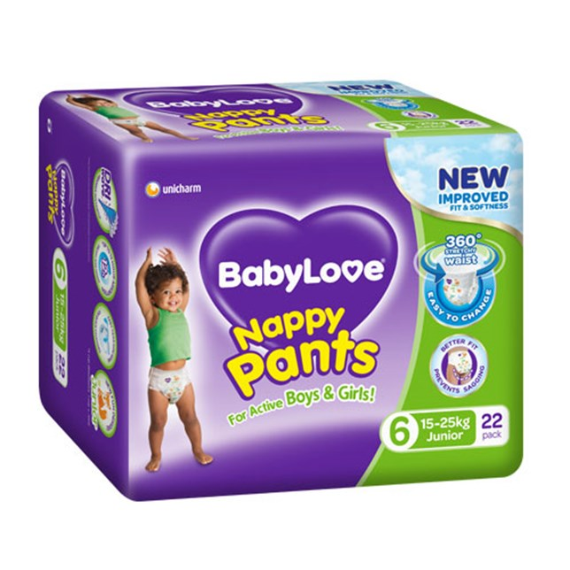 BabyLove Nappy Pants Junior 15-25kg