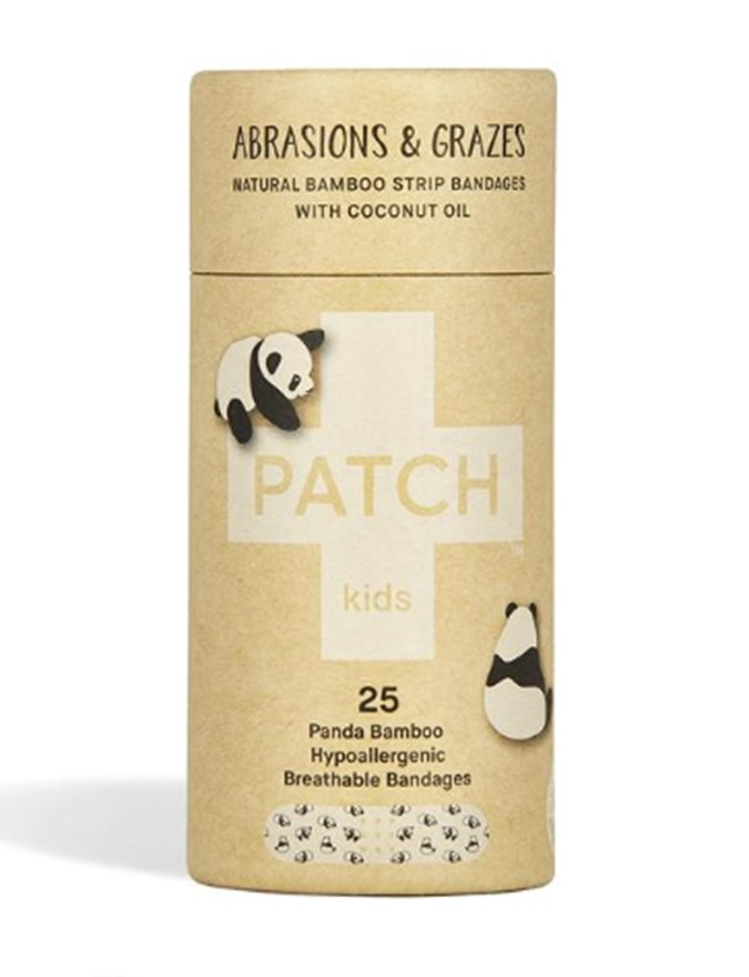PATCH COCONUT OIL KIDS ADHESIVE STRIPS - TUBE OF 25