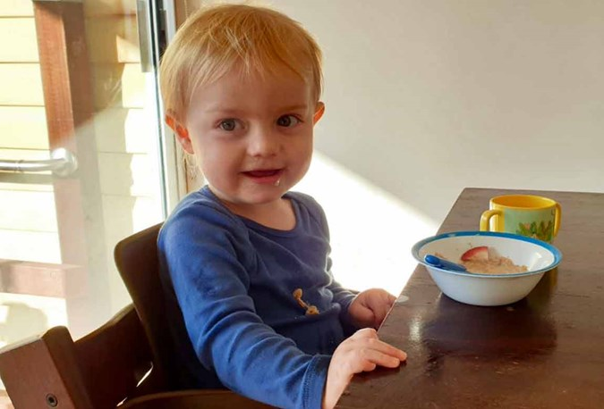 Three ways to use S-26 Toddler Milk. Mixed with Weetabix, porridge or other breakfast cereal; as a milk drink; in your toddler's favourite smoothie.