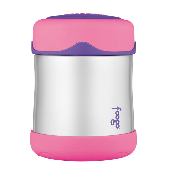290ml Foogo® Stainless Steel Vacuum Insulated Food Jar - Pink