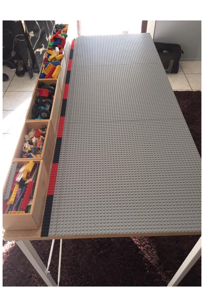 ULTIMATE Kmart LEGO table hack that the internet is going nuts over!