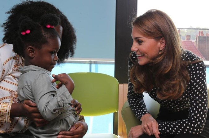 Kate Middleton attended an event at the Sunshine House Children and Young People's Health and Development centre to learn more about the FNP initiative.