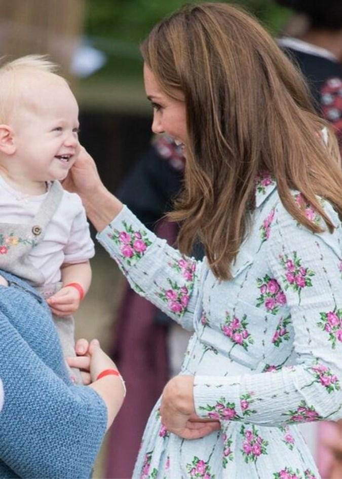 Rumours are rife that Kate will announce another pregnancy very soon. Image: Getty.