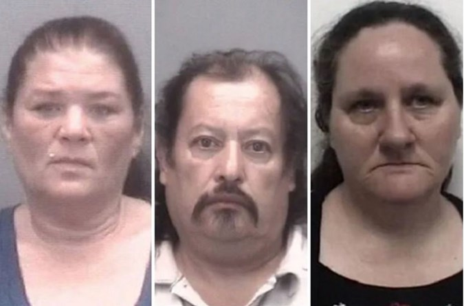 Tina Chavis, Vicencio Romero and Alice Leann Todd. Image: Thomasville Police Department