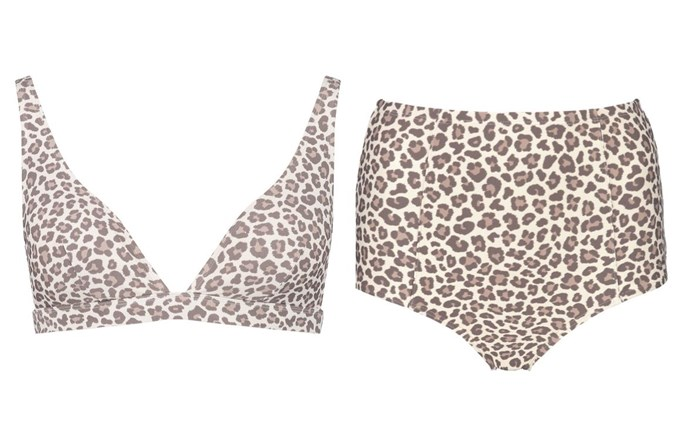 Extended Triangle Bikini Top $12 High Waist Shapewear Briefs $12 from Kmart