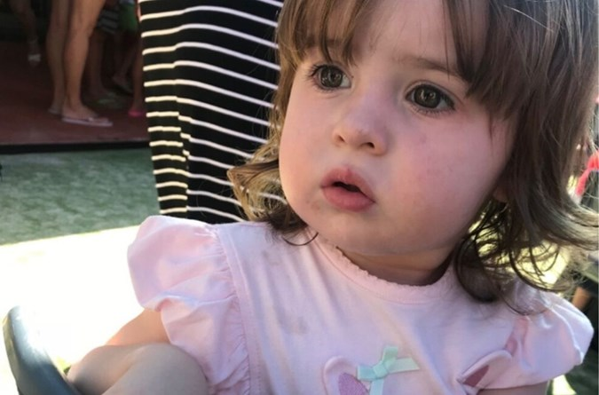 Three-year-old Charlotte died after being struck by a reversing car. Credit: GoFundMe