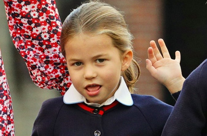 Royal fans commented that Princess Charlotte bears a striking resemblance to Lady Kitty Spencer.