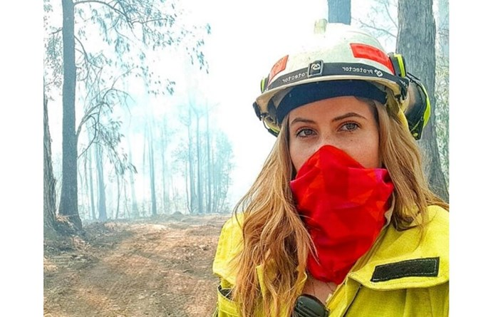 Female firefighters like Amy Pickersgill are fighting blazes across the country. Image: Instagram
