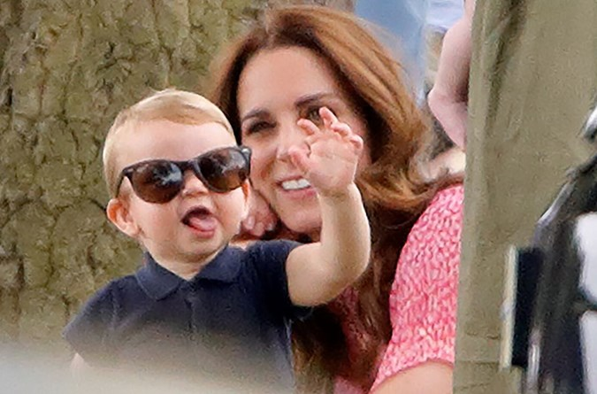 Prince Louis is Kate's youngest child, which she shares with Prince William, and he is the sibling of older brother Prince George, six, and Princess Charlotte, four. Image: Getty