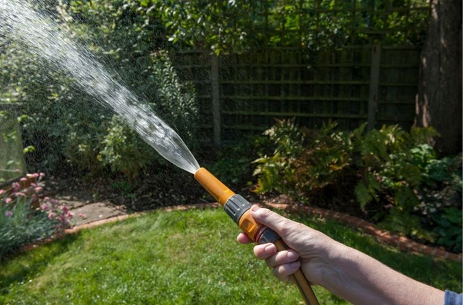 Hosing of hard surfaces is not permitted, unless in an emergency.