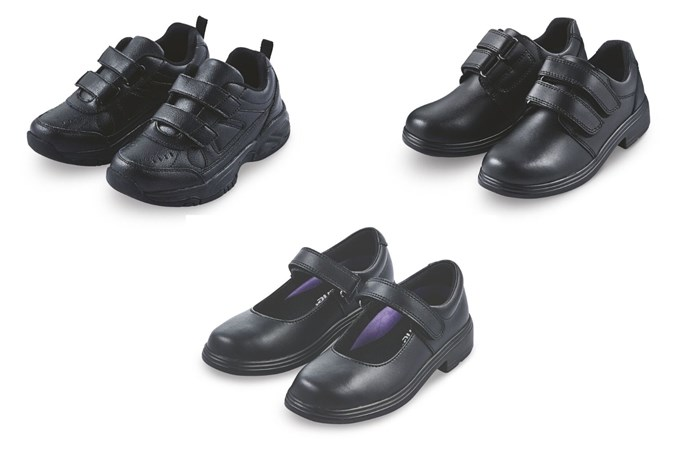 Aldi are bringing back their budget school shoe range this year. Image: Supplied.