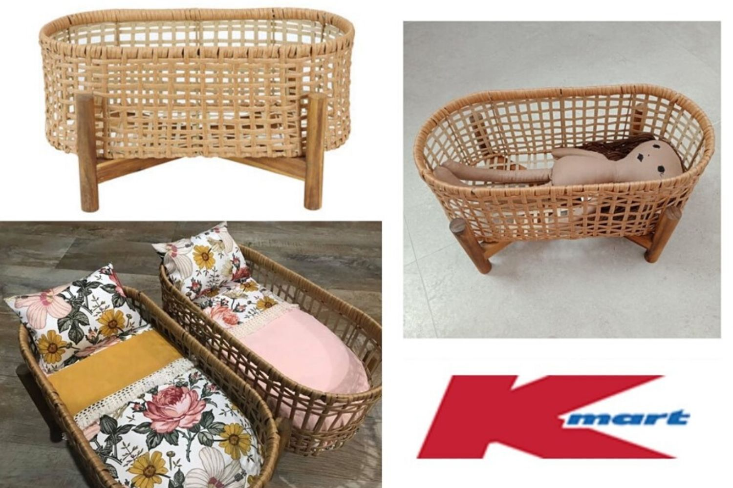 Clever Kmart Mums Are Turning A 19 Plant Stand Into The Cutest Ever Doll Bed Practical Parenting Australia