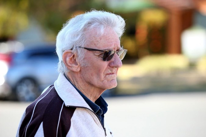 A file image of Paul Savage arriving at the inquest into Tyrrell's disappearance in 2019