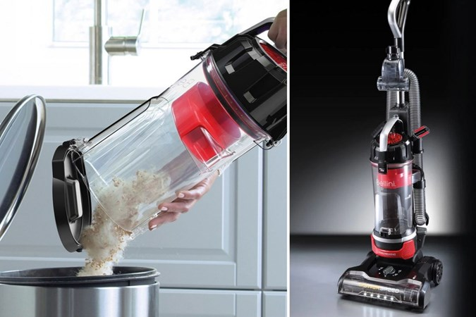 Bellini Pet Bagless Upright Vacuum Cleaner BV3. Image: Target