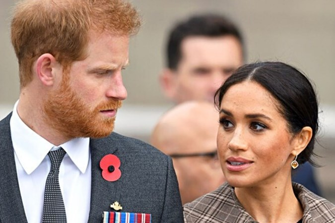 "Meanwhile, a source has revealed that Meghan and Harry have felt a ""weight has been lifted off their shoulders"" since stepping down as senior royals. Image:Getty"