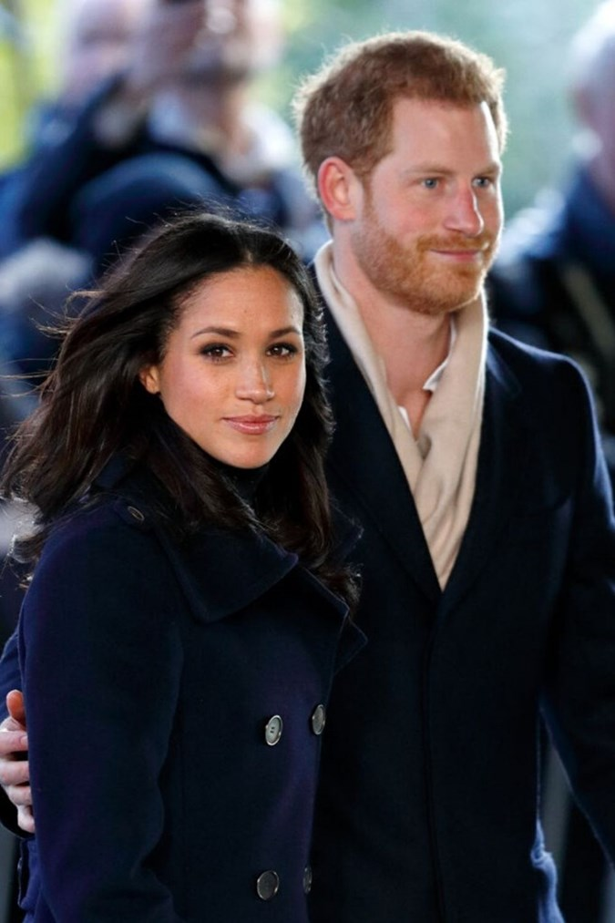 The Sussexes spoke at a celeb packed event on Thursday. Image: Getty