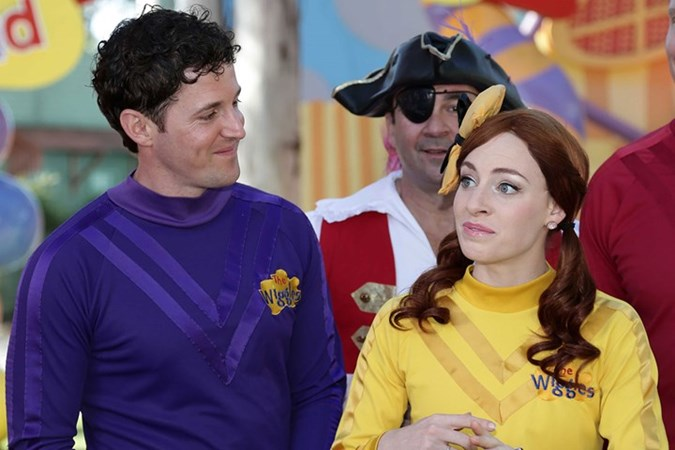 Lachy was once married to Yellow Wiggle Emma.