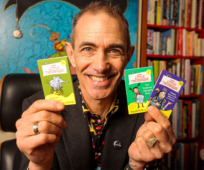 Coles has partnered with best-selling author Andy Griffiths and illustrator Terry Denton to create 24 Coles Little TreehouseTM books to collect. Image: Supplied.