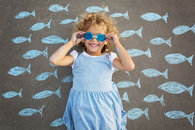 Pisces kids love to daydream (Image: Getty)