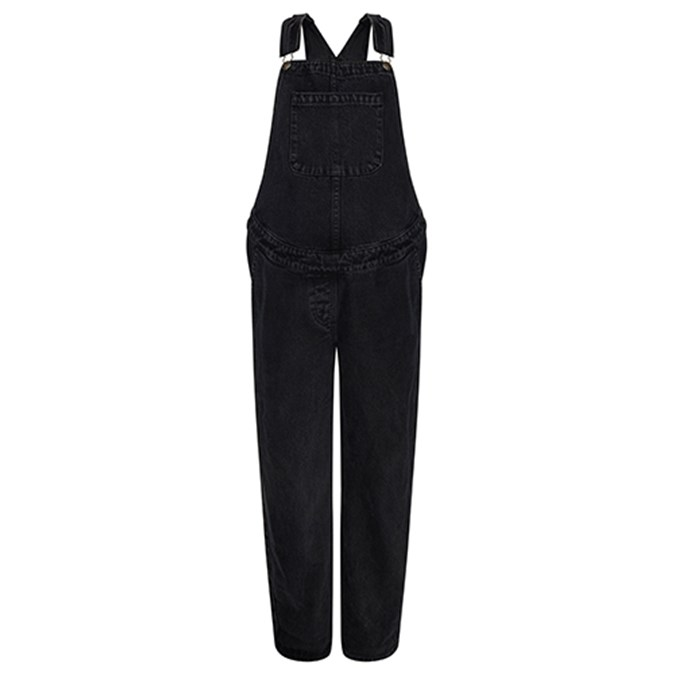 7223a9309df4b ASOS DESIGN Maternity denim dungaree in washed black Review ...