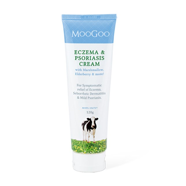 Eczema & Psoriasis Cream with Marshmallow, Elderberry and more