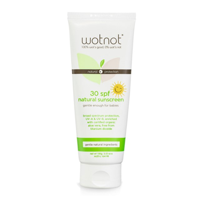 30 SPF Natural Baby Sunscreen 100g