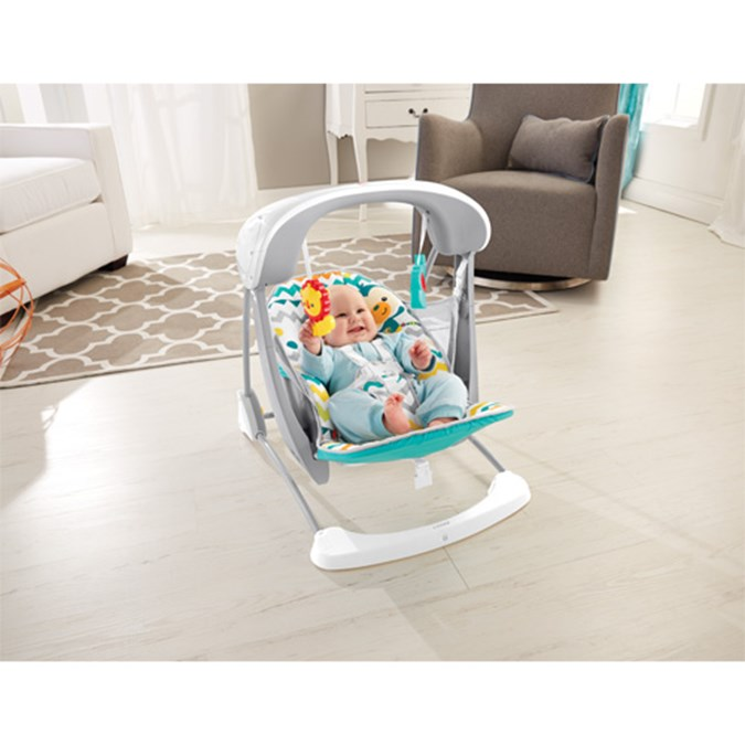 Fisher-Price® Colourful Carnival Take-Along Swing & Seat