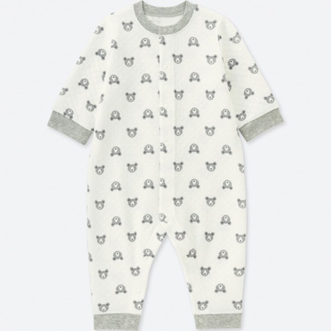 ac4a16b7f BABIES NEWBORN Quilted Long Sleeve One Piece Outfit Review ...