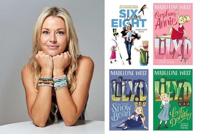 Madeleine West is the author of four books including 'Six Under Eight: when parenting becomes an extreme sport', and the 'Lily.D' children's book series.