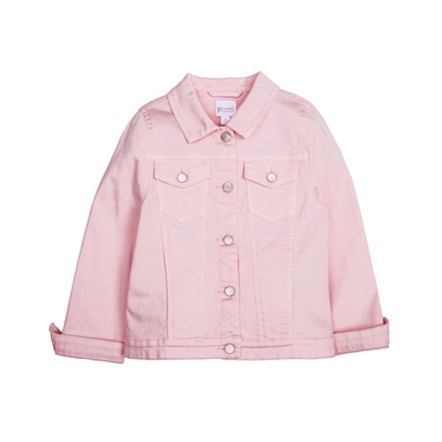 Denim Jacket - Blossom Pink