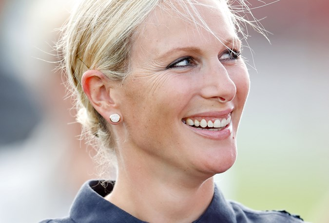 Zara Tindall was in good spirits at the Polo Day despite recent struggles