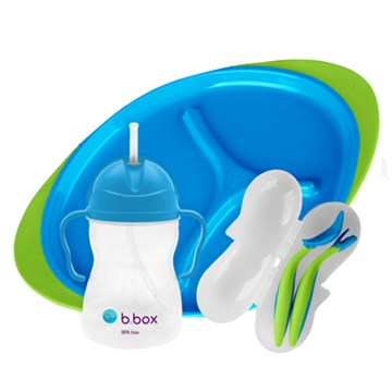 b.box feeding set in ocean breeze