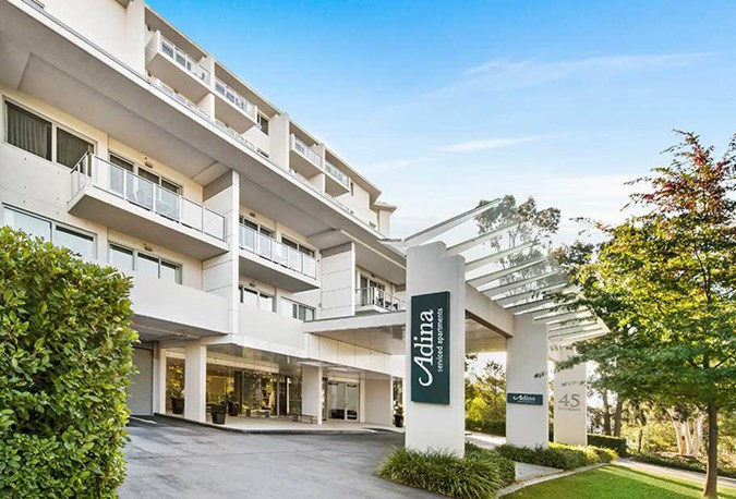 Adina Serviced Apartments in Dickson, Canberra, ACT
