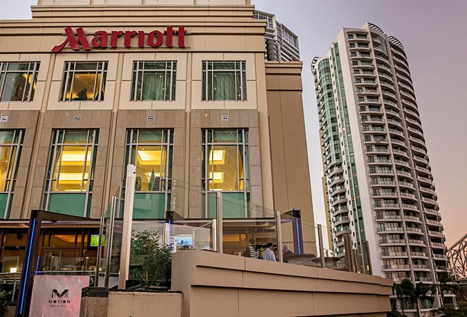 The family-friendly Brisbane Marriott
