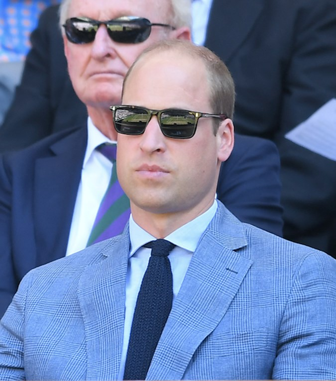 Prince William does shades