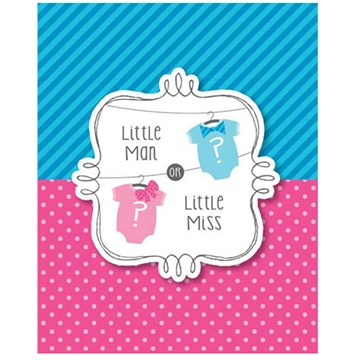 Bow or Bow Tie Party Invitations Pack of 8